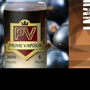 Prime vapour Blackcurrant Overlay