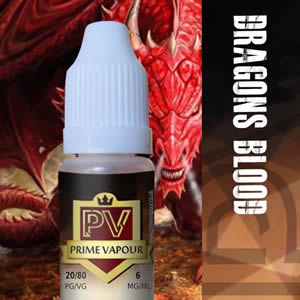 Prime vapour Dragons Blood Overlay