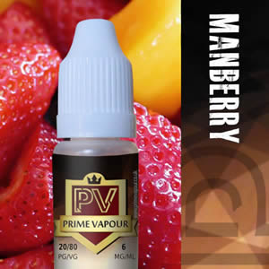 Prime vapour Manberry Overlay
