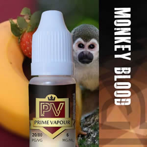Prime vapour Monkey Blood Overlay