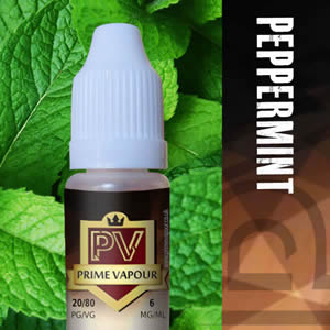 Prime vapour Peppermint Overlay