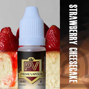 Prime vapour Strawberry Cheese Cake Overlay