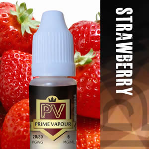 Prime vapour Strawberry Overlay