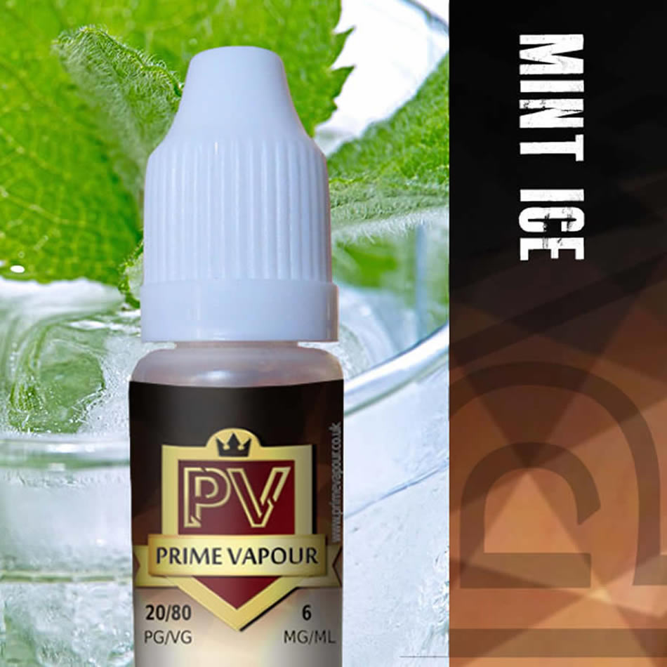 Prime Vapour e-Liquid - [Mint Ice]